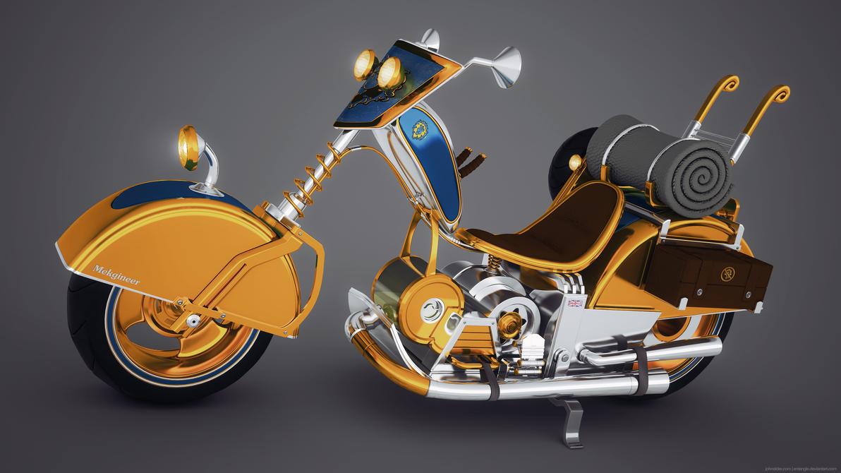 Mekgineer's Chopper (re-render) by entangle