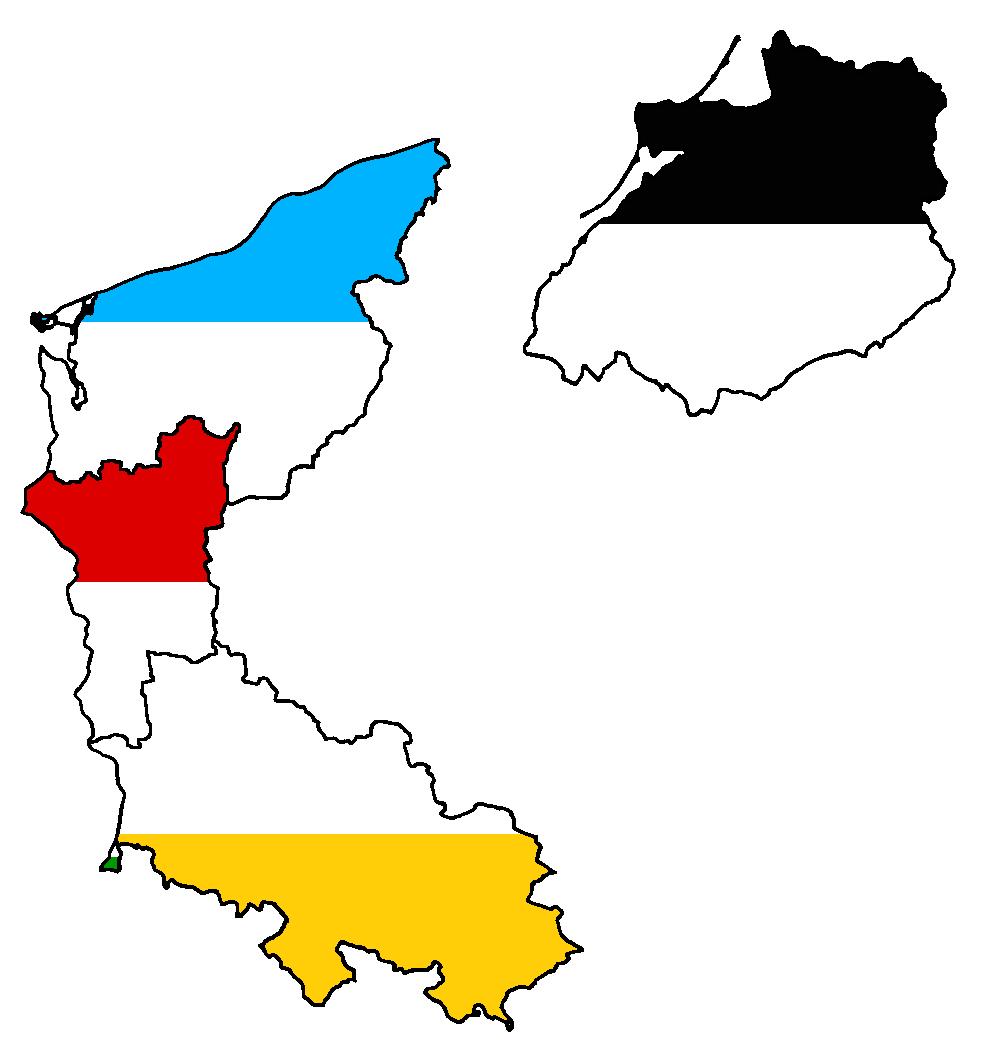 former eastern german states flag map by lehnaru