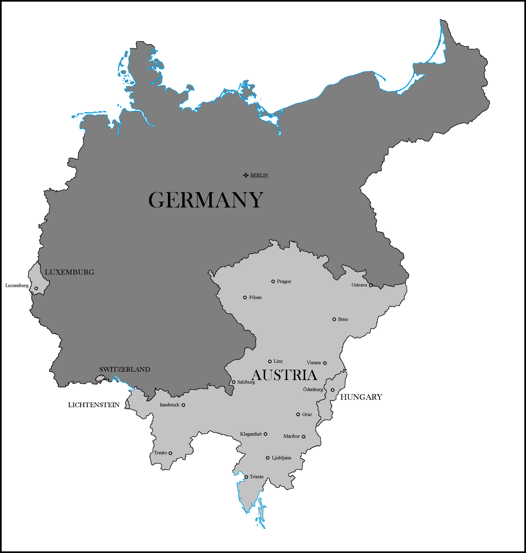 Eastern Germany Ethnic Map By District In By Lehnaru On - Germany map ww1