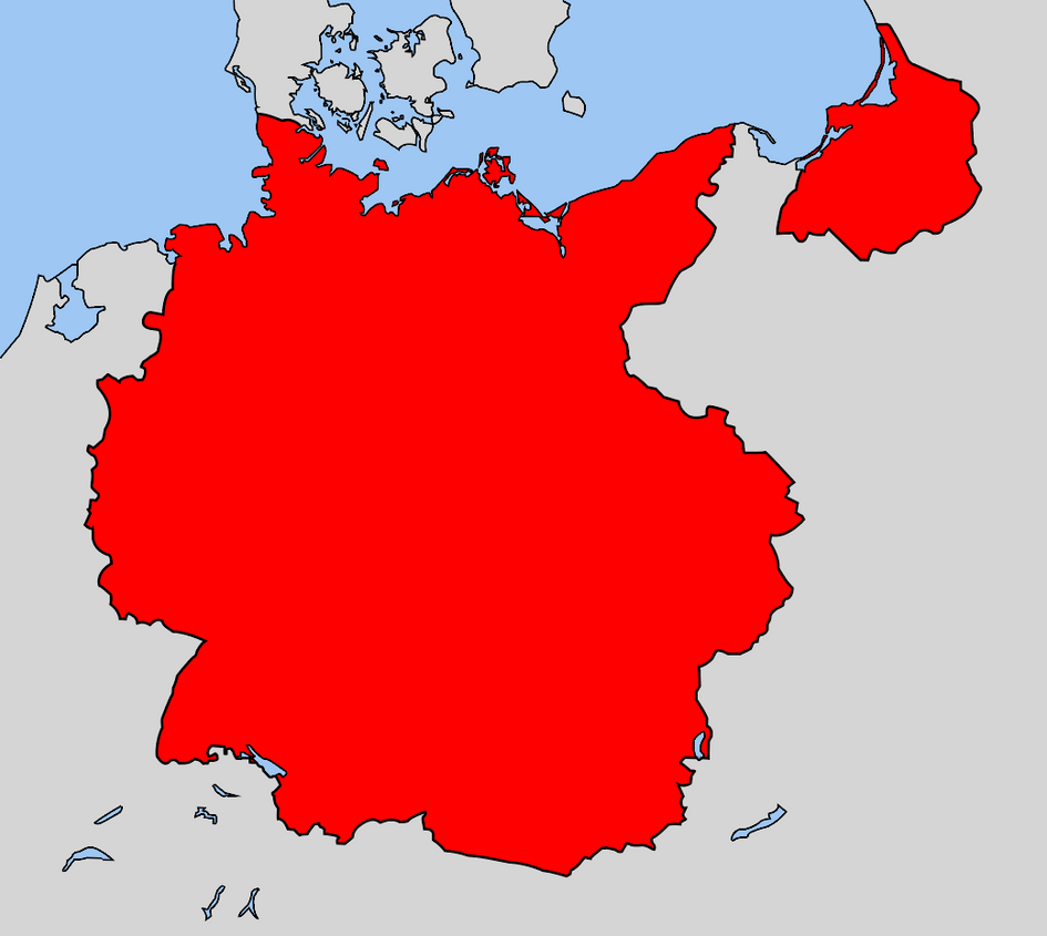old east germany map