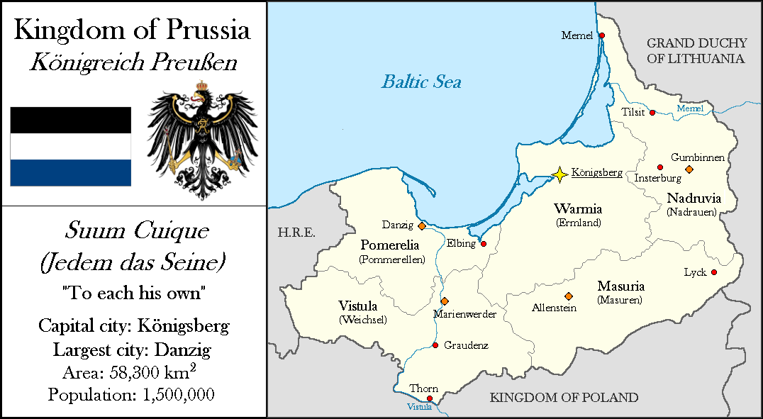 Kingdom of Prussia (c. 1550) by Lehnaru