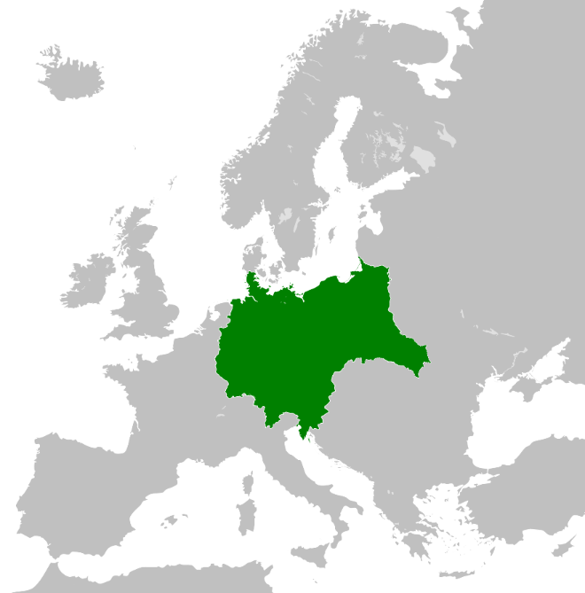 Greater Germany with Poland by Lehnaru