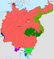 Greater Germany Ethnic Map (old version)