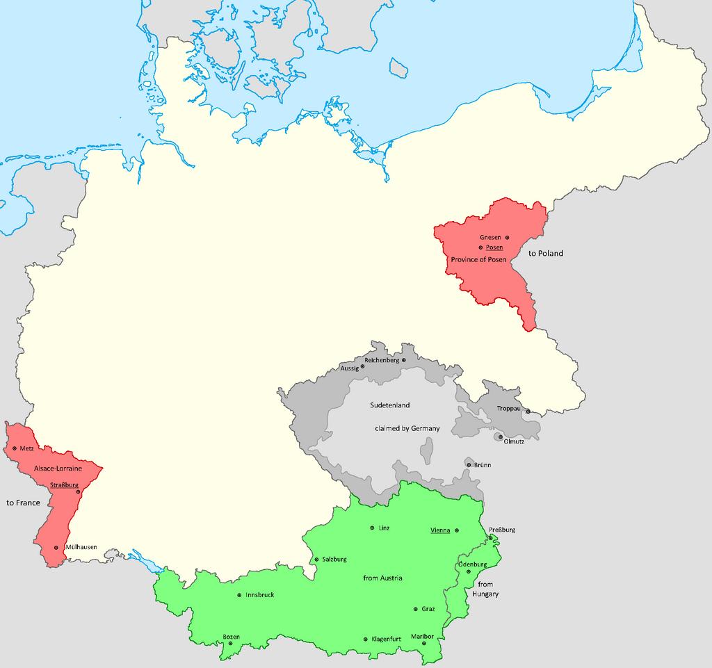 German Austria And The Reich By Lehnaru On DeviantArt - Austria germany map