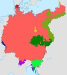 Greater Germany Language Map