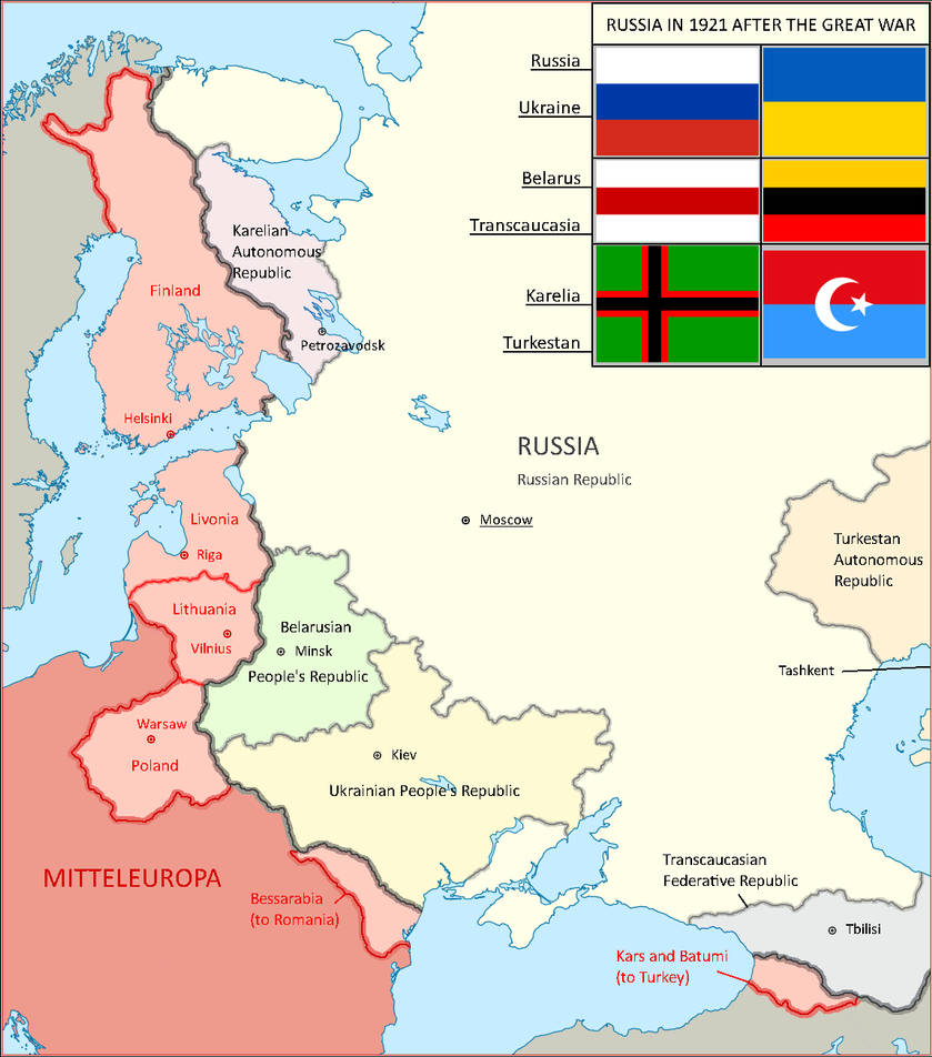 Russian Republic and Mitteleuropa by Lehnaru on DeviantArt