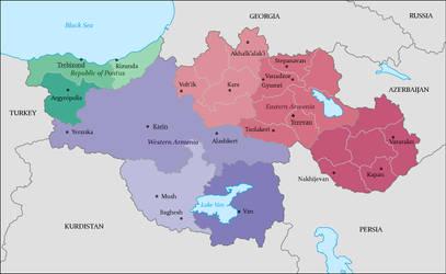 United Republic of Armenia by Lehnaru