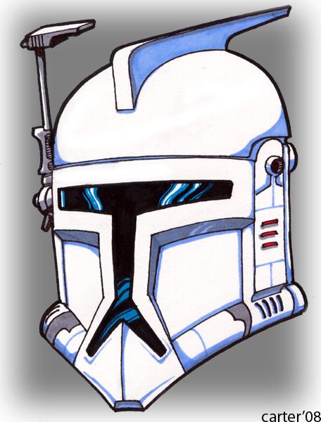 Clone Trooper Helmet Vector Clone Trooper Helmet B...