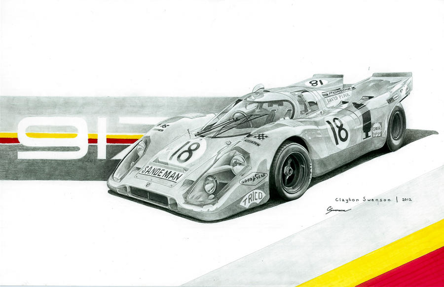 Porsche 917K Shell Livery by CSwenson-Artistry