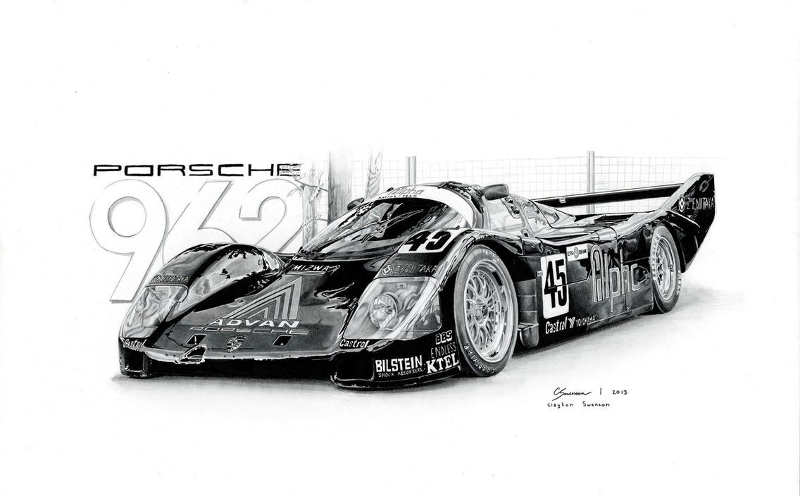 Porsche 962 by sesven