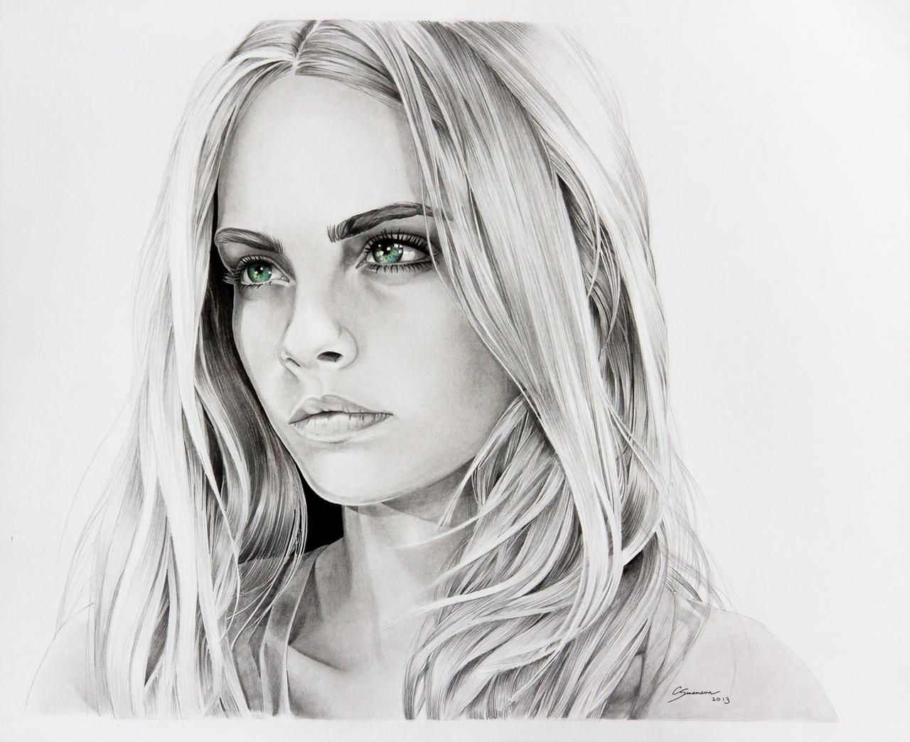 Cara Delevingne by CSwenson-Artistry