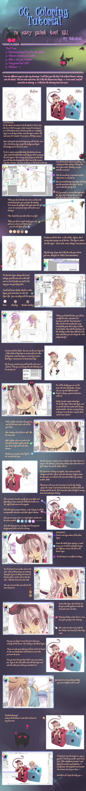 CG coloring Tutorial by Luky-Yuki