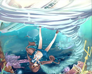 Art Water competition: sinking by Luky-Yuki