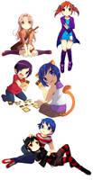 Commissions dump by Luky-Yuki