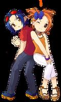 Joshua and Alexandra by Luky-Yuki