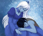 Marshall Lee and Ice Queen