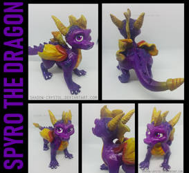 Spyro Sculpture by Shadow-Crystol