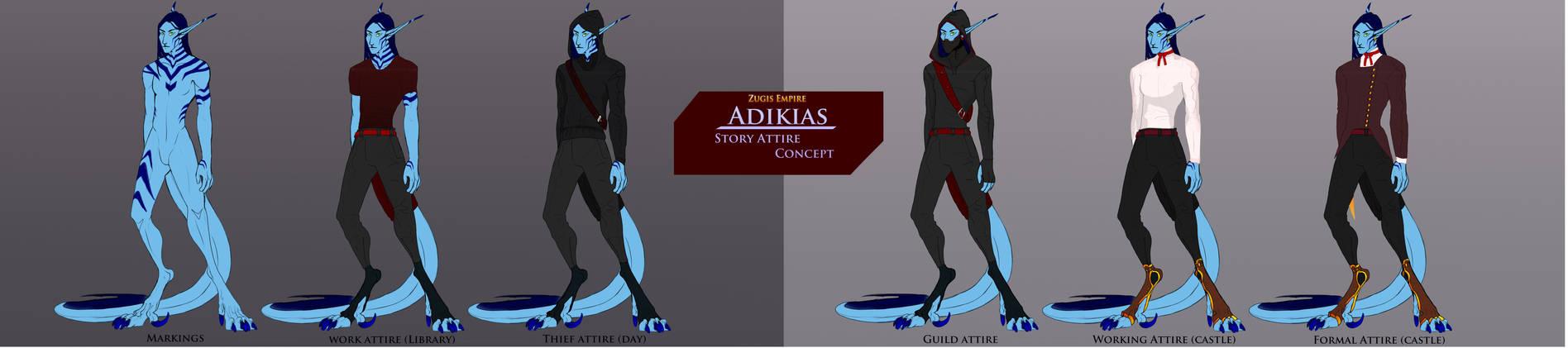 Adikias Story Attire Concepts