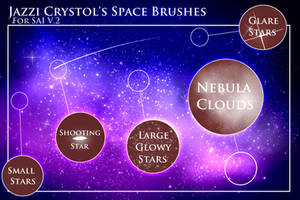 Jazzi's Space Brushes by Jazzi-Crystol