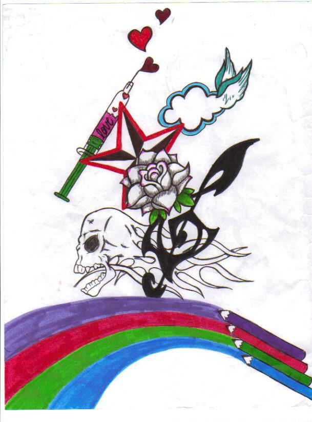 Neon Acid by EmoSceneGirl