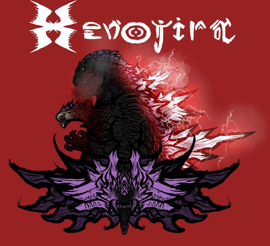 Xenojira by Inkbleedful