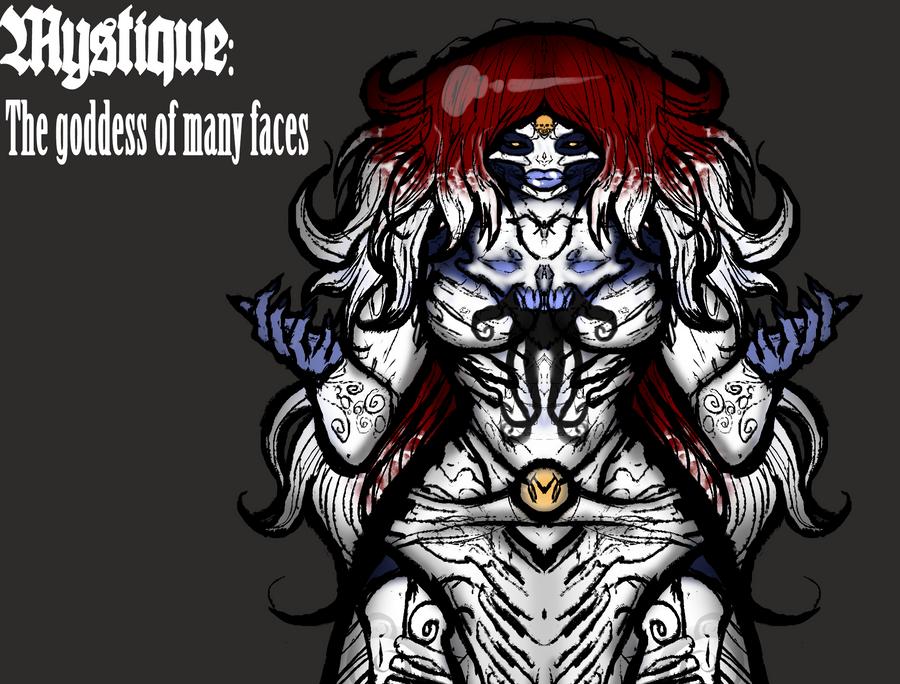 Neo Mystique by Inkbleedful
