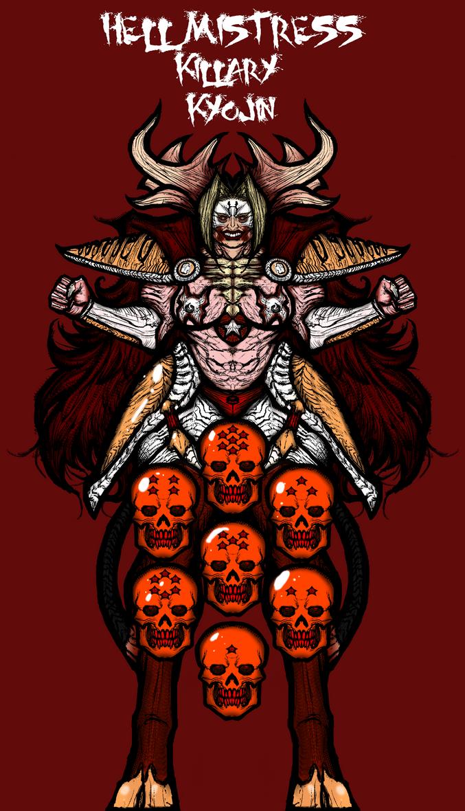 Killary Kyojin by Inkbleedful
