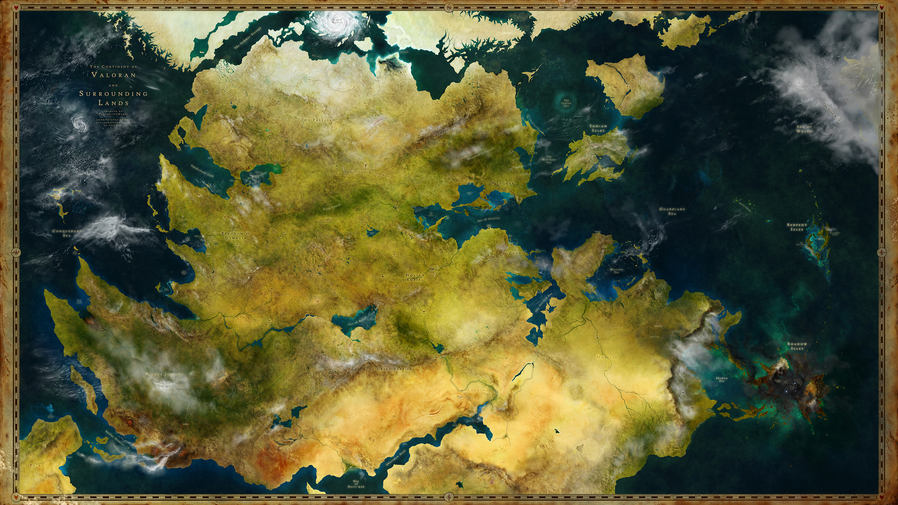 Legacy of the League - A League of Legends Map by ... on diablo 3 world map, pokemon mystery dungeon world map, lol map, concept art world map, treasure map,