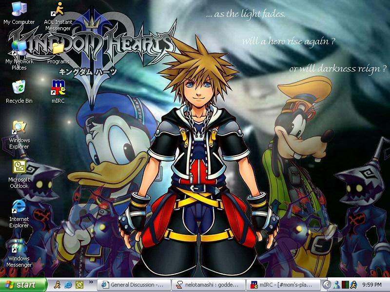 Kingdom Hearts by amigreenleaf