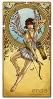 Eros - God of Love by MelZayas