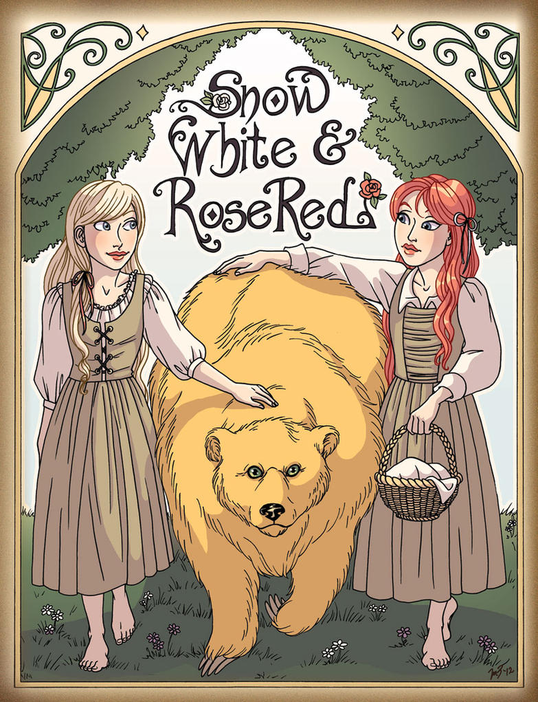Snow White And Rose Red By Melzayas On Deviantart