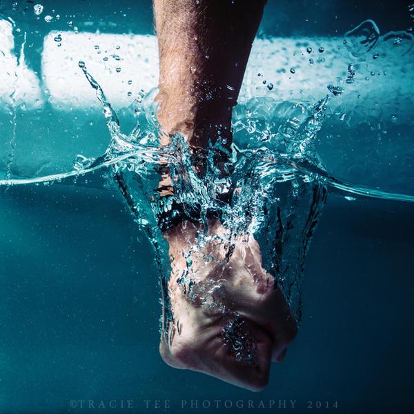Fist splash by Teeslpscreations