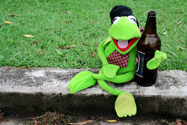 Party Time With Kermit by Teeslpscreations