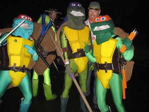 TMNT on the town