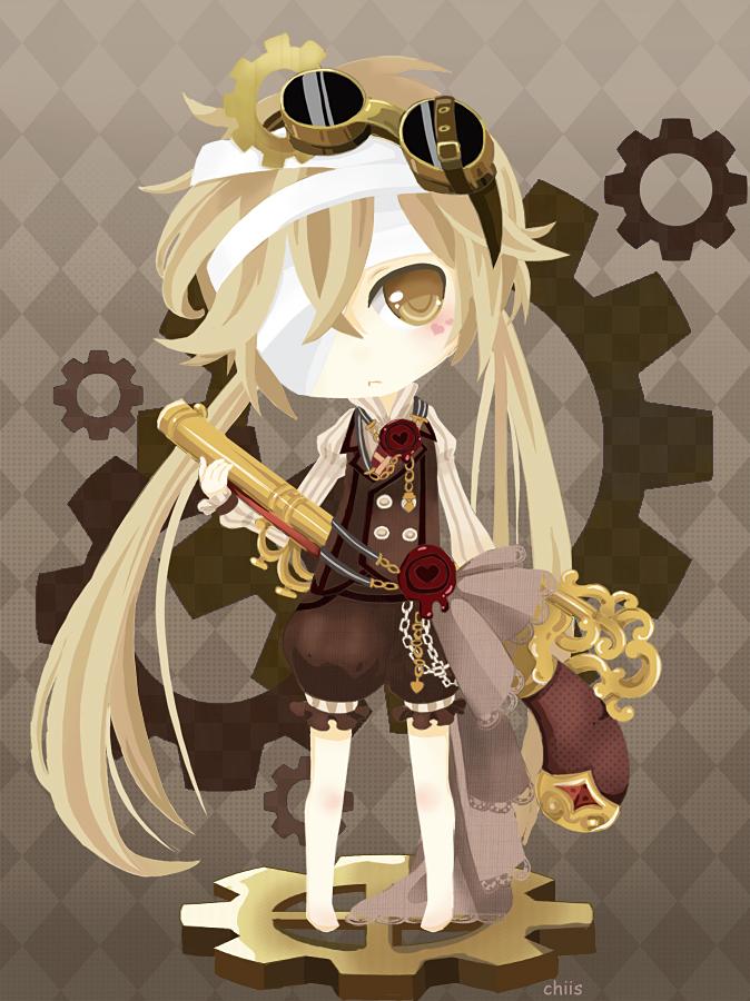 Cute Steampunk by Merollet