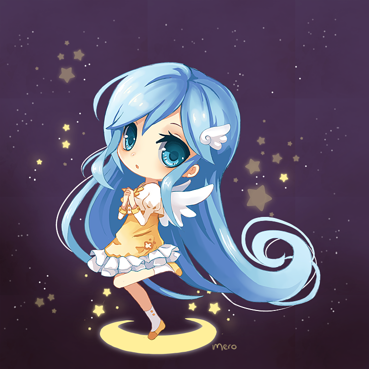 Luna chibi by Merollet