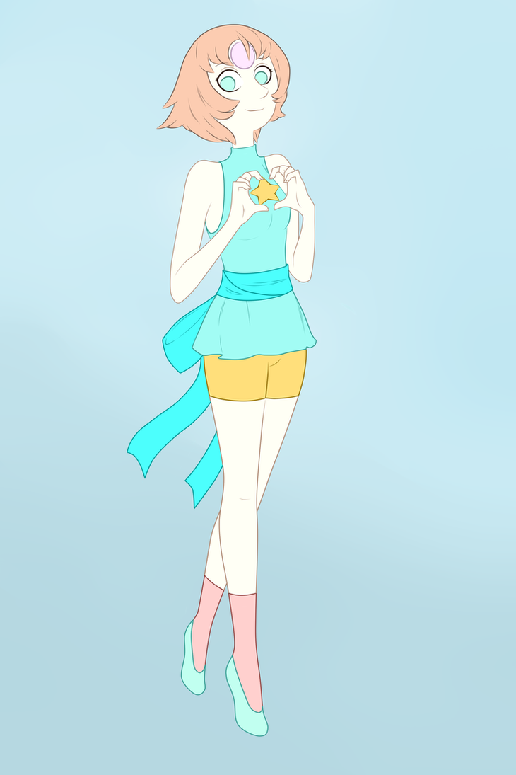 This pearl from the show Steven Universe and she loves you. Finished in Sai on August 08 2018.