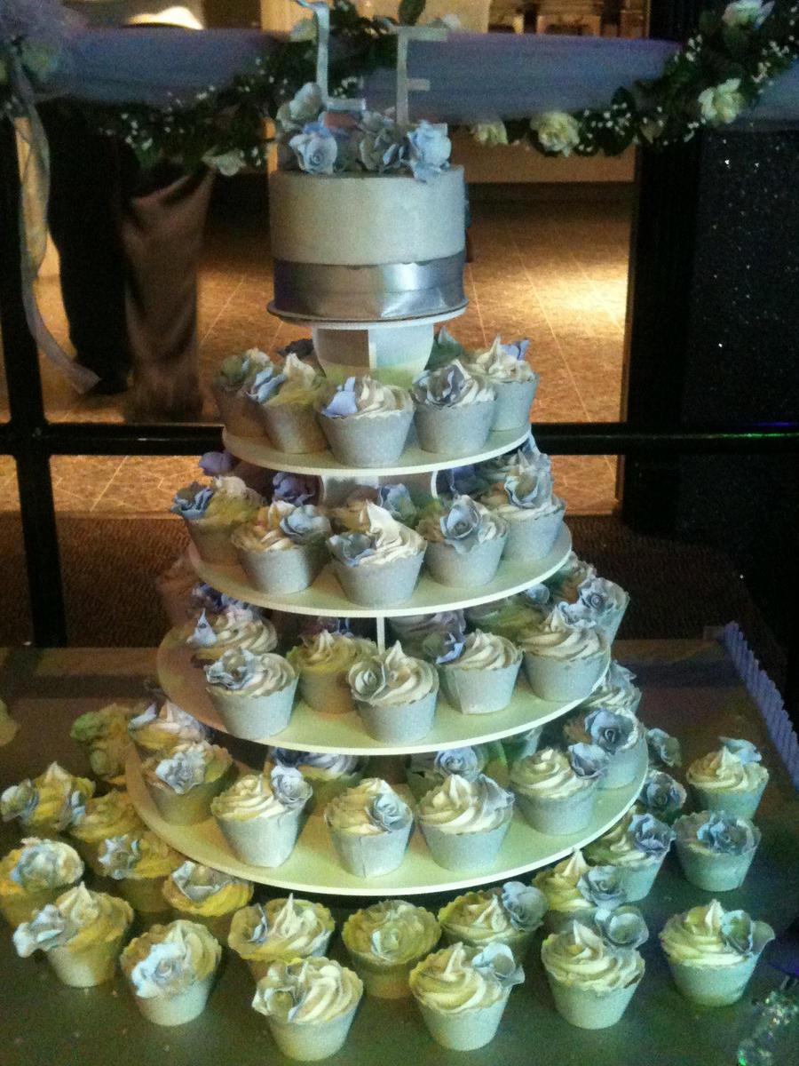 Wedding Cupcake Display. YestBuy 4 Tier Maypole Square Wedding ...