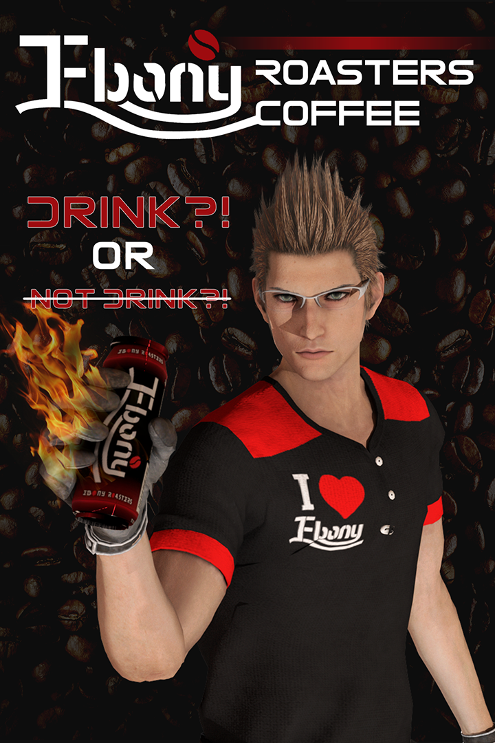 Ebony coffee final fantasy