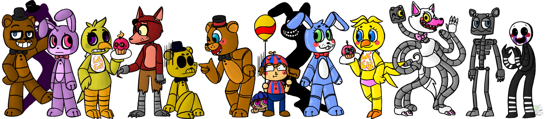 Five Nights at Freddy's /2 by CandyKidneys
