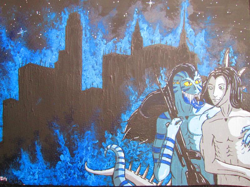 Plasma City by DecendantOfTheRose