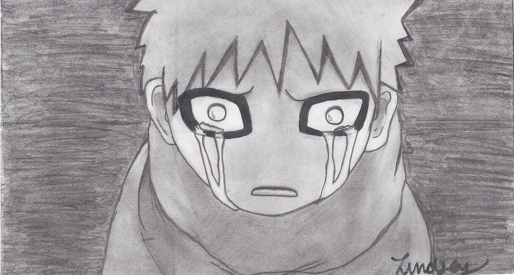 Chibi Gaara Crying by FlutiePatootiee on deviantART Gaara Crying