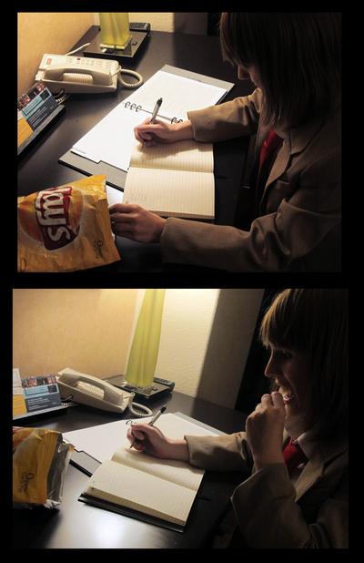 I'll Take a Potato Chip... by dahowbbit