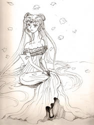 Princess Serenity - WIP? by brit-chan