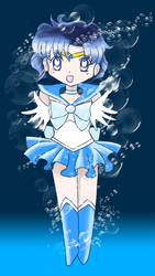 Chibi Sailor Mercury by brit-chan