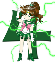 Chibi Sailor Jupiter by brit-chan