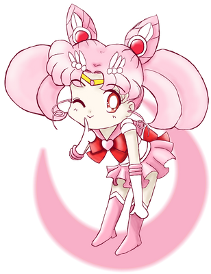 Chibi Sailor Chibi Moon by brit-chan