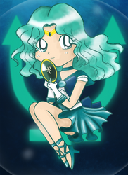 Chibi Sailor Neptune by brit-chan