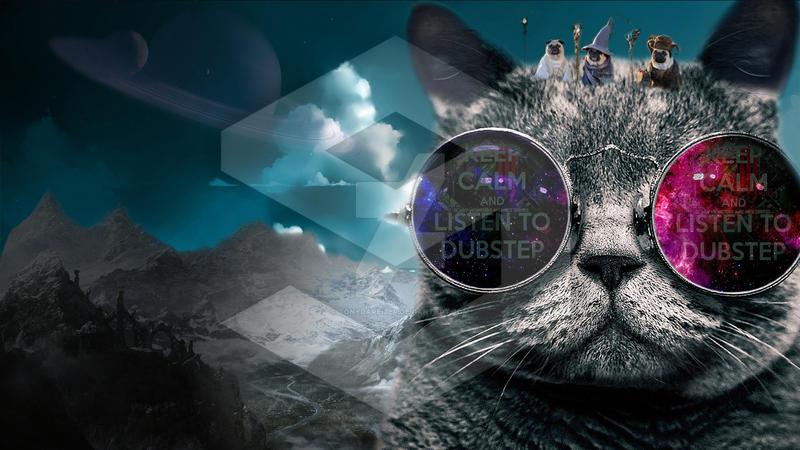 Cosmic Cat Be A Cosmic Cat