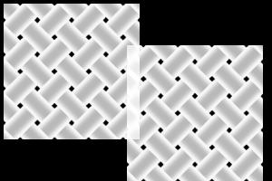 Weave Tile Brush by marimbagirl